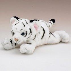 Animales De Peluche Y Juguetes De Peluche,tigre Cub Blan..