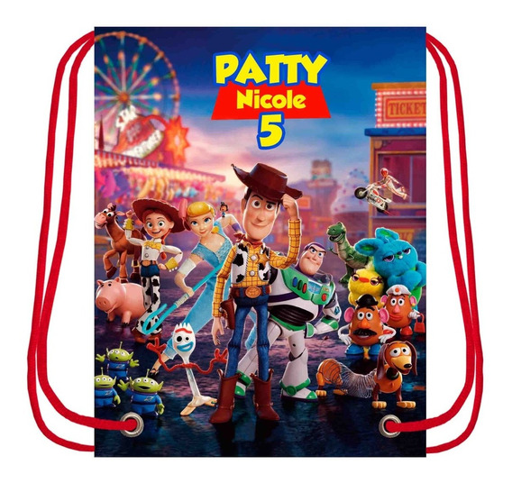 Morral Dulcero, Personalizados, -toy Story-25 Pzas