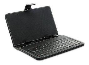Capa Case C/ Teclado Mini Usb P/ Tablet 7 Polegadas