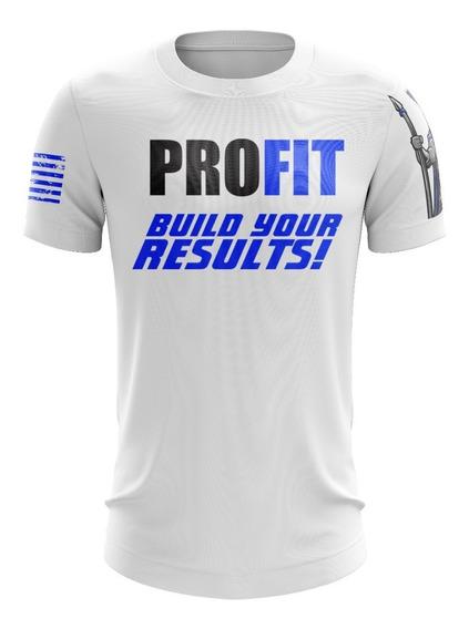 Camiseta Profit Dry Fit Espartanus Lançamento Profit Labs