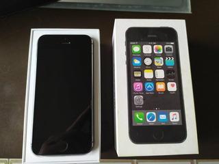 iPhone 5s Space Grey 16gb Liberado Como Nuevo En Caja Barato