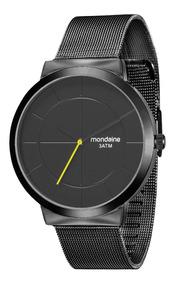 Relógio Mondaine Masculino 53592gpmgpe4 Preto