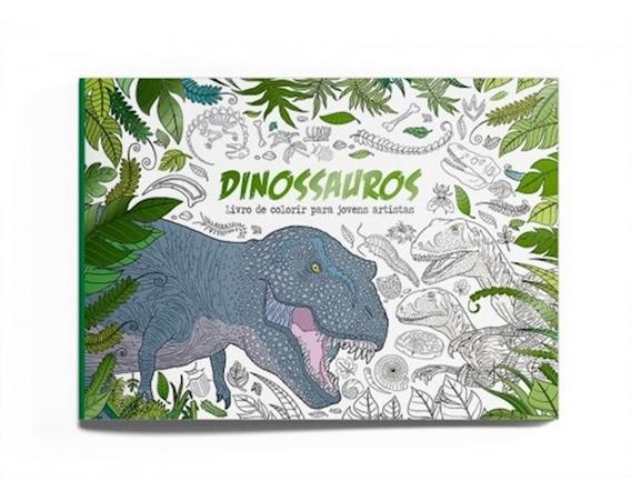 Colorir - Dinossauros Vale Das Letras
