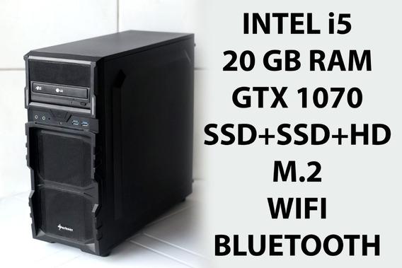 Pc I5 20g Gtx 1070 8g Ssd Hd Gamer 3d Render Octane Redshift