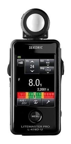 Fotômetro Sekonic L-478d Litemaster Pro