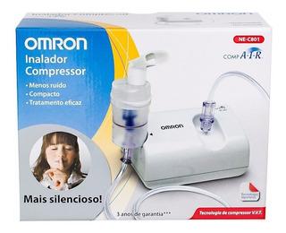 Nebulizador De Compresor Con V.v.t. Ne-e801 Omron Nuevo!!