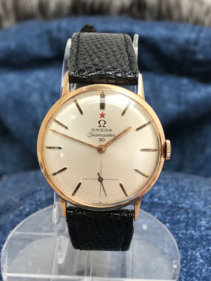 Relógio Ouro 18k Maciço Omega Seamaster Calibre 269 Impecável Fabricado Em 1963 - 13 Anos No Mercado Livre
