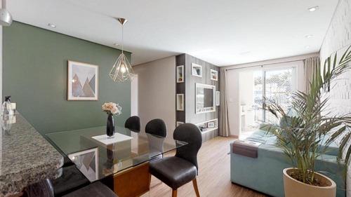 Imagem 1 de 30 de Apartamento De 3 Dormitórios Em Condomínio No Bairro Jaguaré - Ap3097v