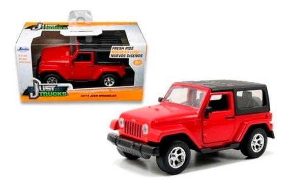 Camioneta Jeep Wrangler 1.32 Jada Metal En Cadia