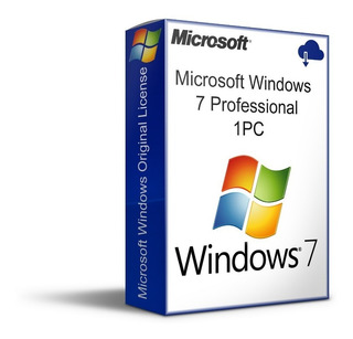 Recibe Tu W-indows 7 Pro, 1 Pc Permanente