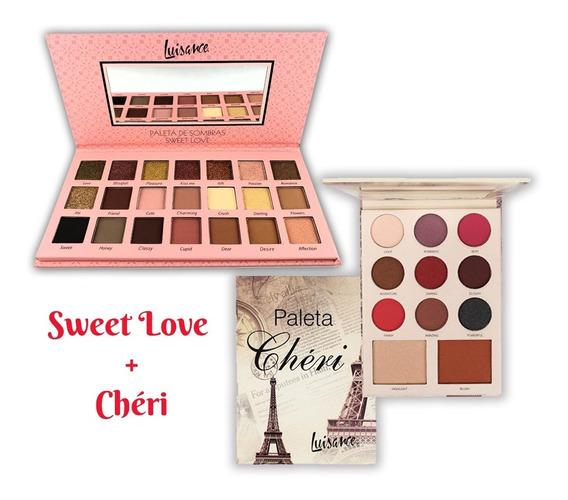 Paleta De 21 Sombras Sweet Love +paleta Cherí Luisance