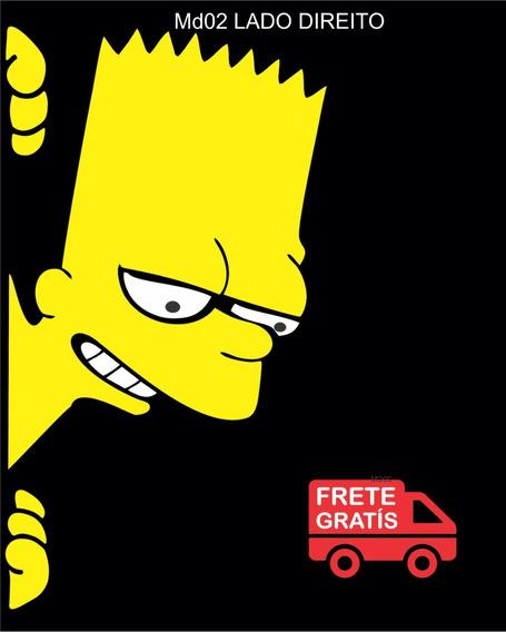 Adesivo Bart Simpson Carro Caminhão + Frete Grátis Brasil