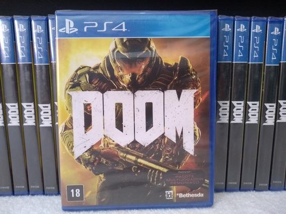 Doom Ps4 Mídia Física Novo Lacrado Pronta Entrega Português