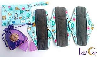 Luna Cup Menstrual Kit De Iniciación Reutilizable Period P
