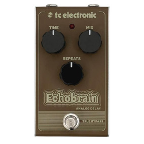 Pedal Para Guitarra Tc Electronic - Echobrain Analogic Delay