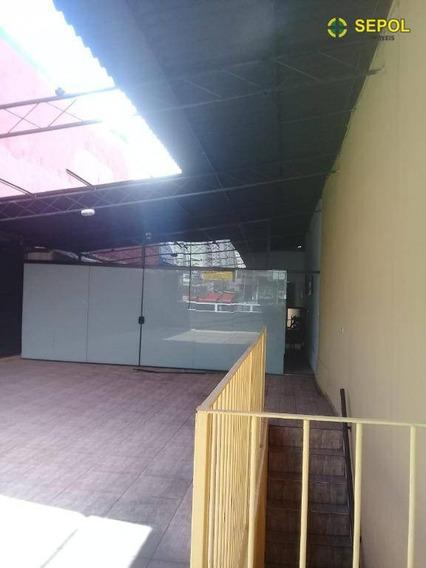 Salão Para Alugar Por R$ 1.100/mês - Jardim Aricanduva - São Paulo/sp - Sl0076