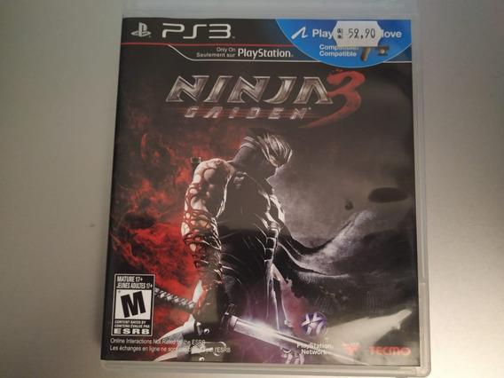 Jogo Ninja Gaiden 3 (ps3)