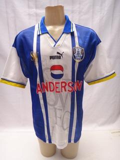Camisa Futebol Do Sheffield Wednesday Puma 1995 96 1997 - Zz