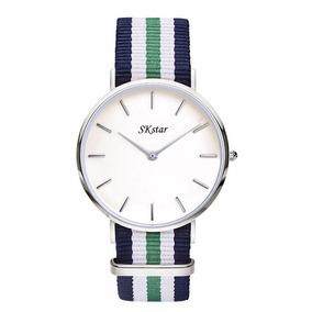 Relógio Skstar Modelo Dw Unissex Sk Star Luxury