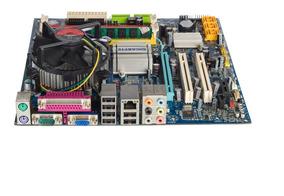 Kit Placa Mãe 775 Ddr2/ Core 2 Duo 3.0/ Cooler/ 2gb Promoção