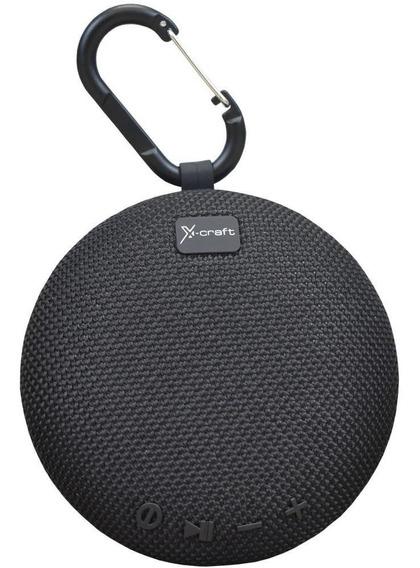 Caixa De Som Bluetooth X-craft X5 Preta 5w Resistente À Ág