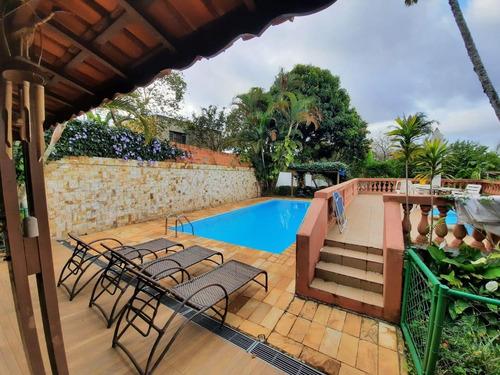 Chácara Com 5 Dormitórios À Venda, 1020 M² Por R$ 780.000,00 - Jardim Estância Brasil - Atibaia/sp - Ch0008