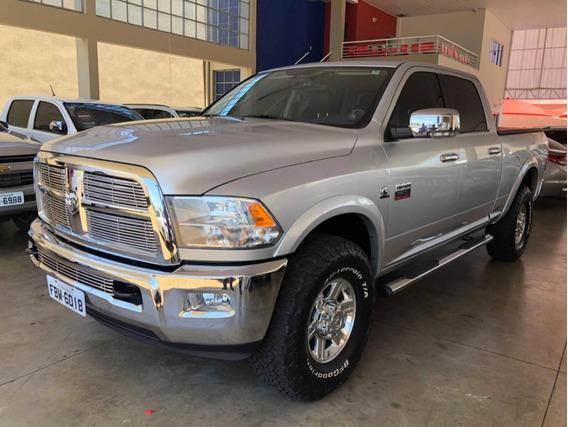 Dodge Ram Laramie 2012 Prata 6.7 2500 Laramie 4x4 Cd I6 Tur