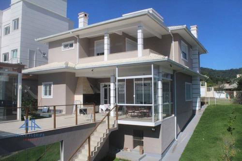 Imagem 1 de 23 de Casa Com 4 Dormitórios À Venda, 650 M² Por R$ 2.024.000,00 - Córrego Grande - Florianópolis/sc - Ca0528