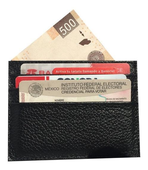 Tarjetero De Piel Cartera Para Billetes Old Caborca