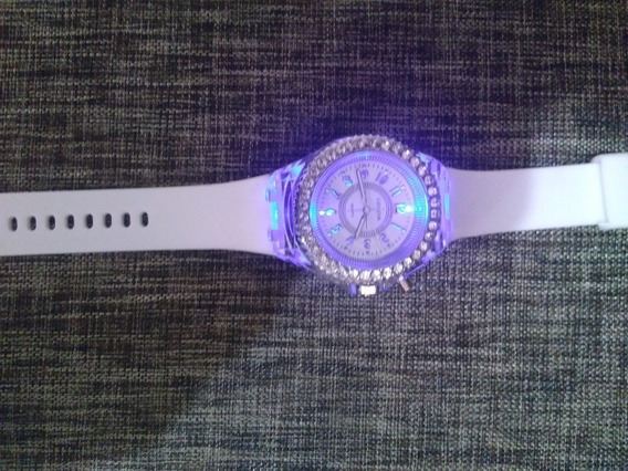 Flash Reloj Luminoso Led