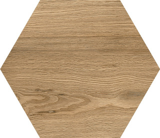 Hexagono Porcelanato Roble Acuarela 17,5x20 Piso-pared