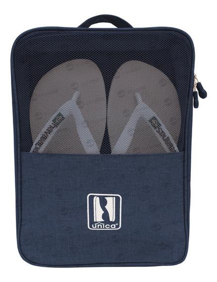 Porta Sapatos Organizador Viagem Impermeável C/ Alça P/ Mala