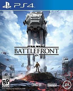 Star Wars Battlefront Edicion Estandar Playstation 4