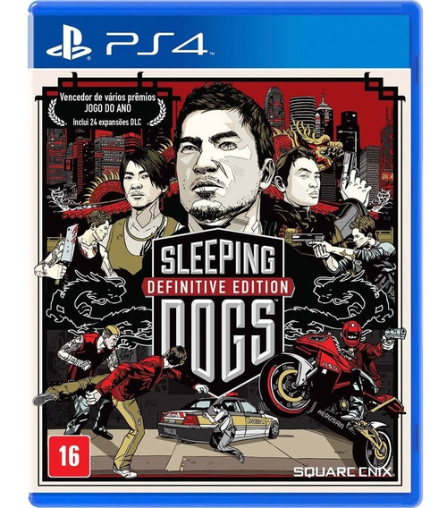 Sleeping Dogs Definitive Edition (mídia Física) - Ps4