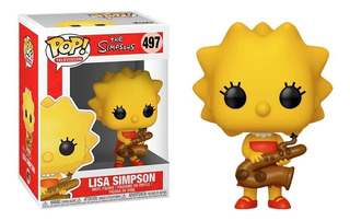 Simpsons Lisa Saxo Funko Pop Original #61 - Microcentro