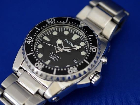 Relógio Seiko Kinetic Scuba 200m Impecável