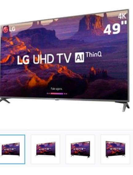 Tv 49p 4k Lg Leia A Descrição