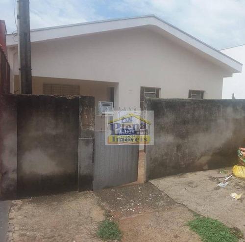 Casa Com 3 Dormitórios - Venda Por R$ 280.000,00 Ou Aluguel Por R$ 890,00/mês - Vila Juliana - Sumaré/sp - Ca3627