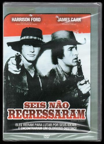 Dvd Seis Não Regressaram | J. Caan + Harrison Ford (lacrado) | Mercado Livre