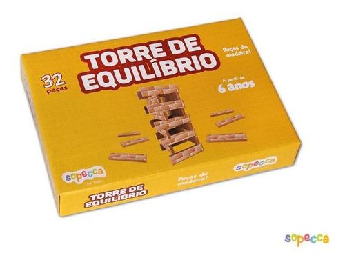 -torre De Equilíbrio 32 Peças - Sopecca Te001