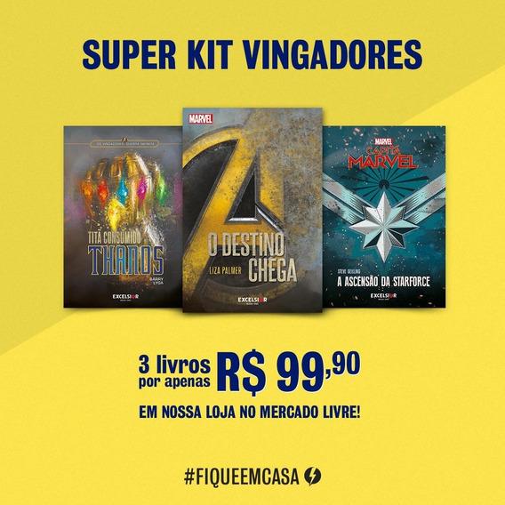 Livro - Super Kit Vingadores