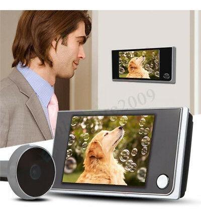3.5 Digital Peephole Porta Visualizador Câmera Visão Noturna