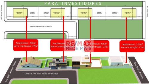 Terreno À Venda, 1100 M² Por R$ 530.000,00 - Vila Bela Vista - Botucatu/sp - Te0063