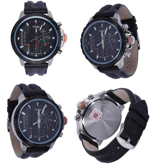 Relógio Timex Masculino Linear Chronograph T2p274pl/ti