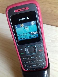 Celular Antigo Nokia 1208 Lanterninha