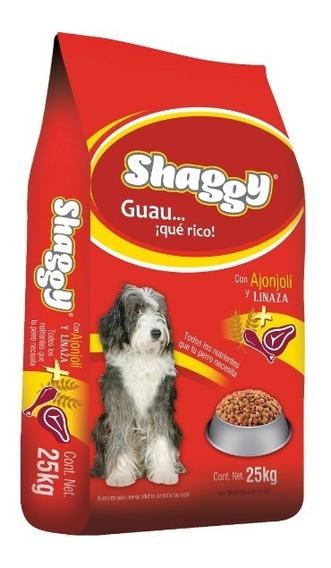 Shaggy 25kg. Croqueta Alimento Perro Todas Las Razas Adulto