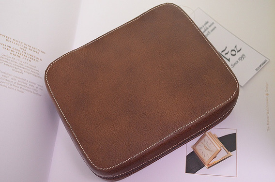 Porta Relógios 4 Unds Leather Zip Folder - Lindo 201904603