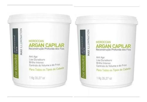 2 Btx Argan For Beauty - Promoção - Produto Em Estoque