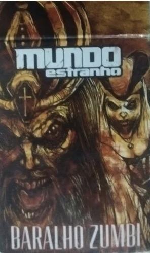 Baralho Zumbi - Revista Mundo Estranho
