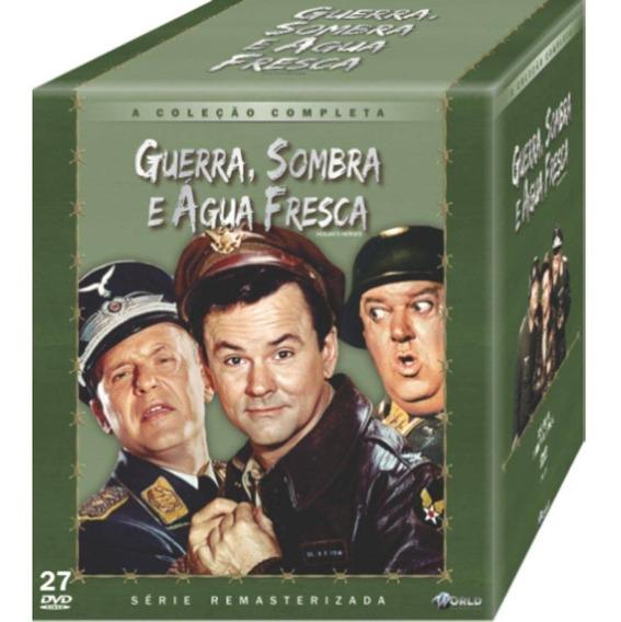 Box Dvd Guerra Sombra E Água Fresca - Coleção Completa